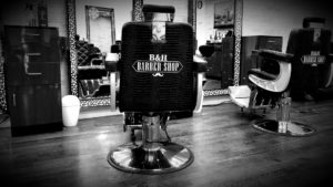 B & H Barbershop Chairs