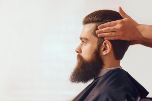 Picture of a man with long beard and hairs